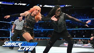 Fatal Four-Way Match - Winner challenges for SmackDown Women's Title: SmackDown LIVE, Sept. 19, 2017 thumbnail