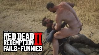 Red Dead Redemption 2 - Fails & Funnies #37