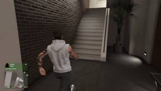 How to get into Franklins house GTA 5 ONLINE