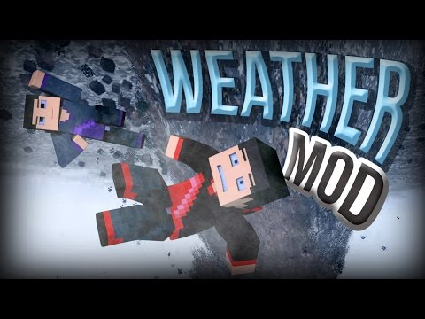 Minecraft: WEATHER MOD (Tornados, Volcanos, Hurricanes and More) Mod Showcase
