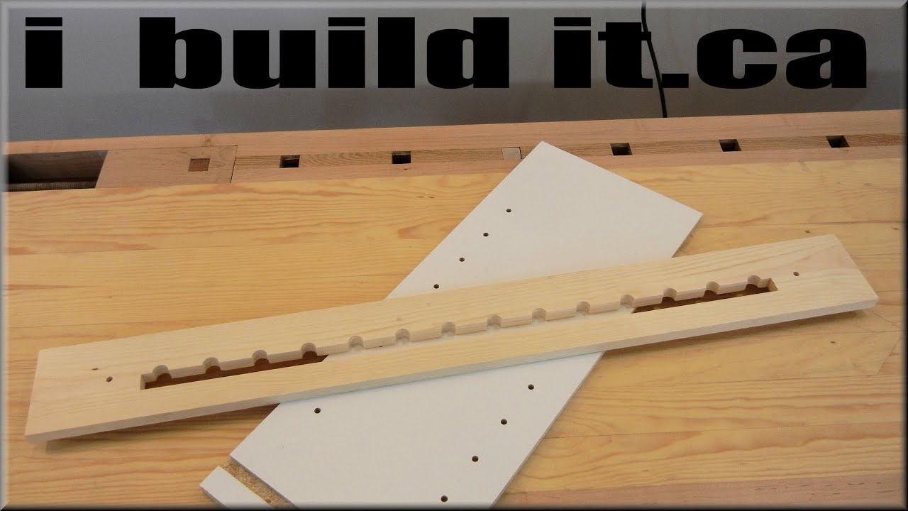 how to make slots in wood