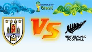 URUGUAY VS NUEVA ZELANDA | COPA MUNDIAL | PES 6 SUPERSONIC PATCH