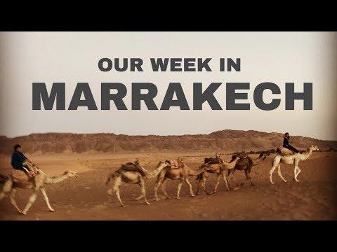 OUR WEEK IN MARRAKECH