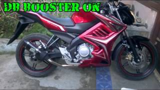 Sound Exhaust NOB1 SS Dual SOUND ON New Vixion Lightning