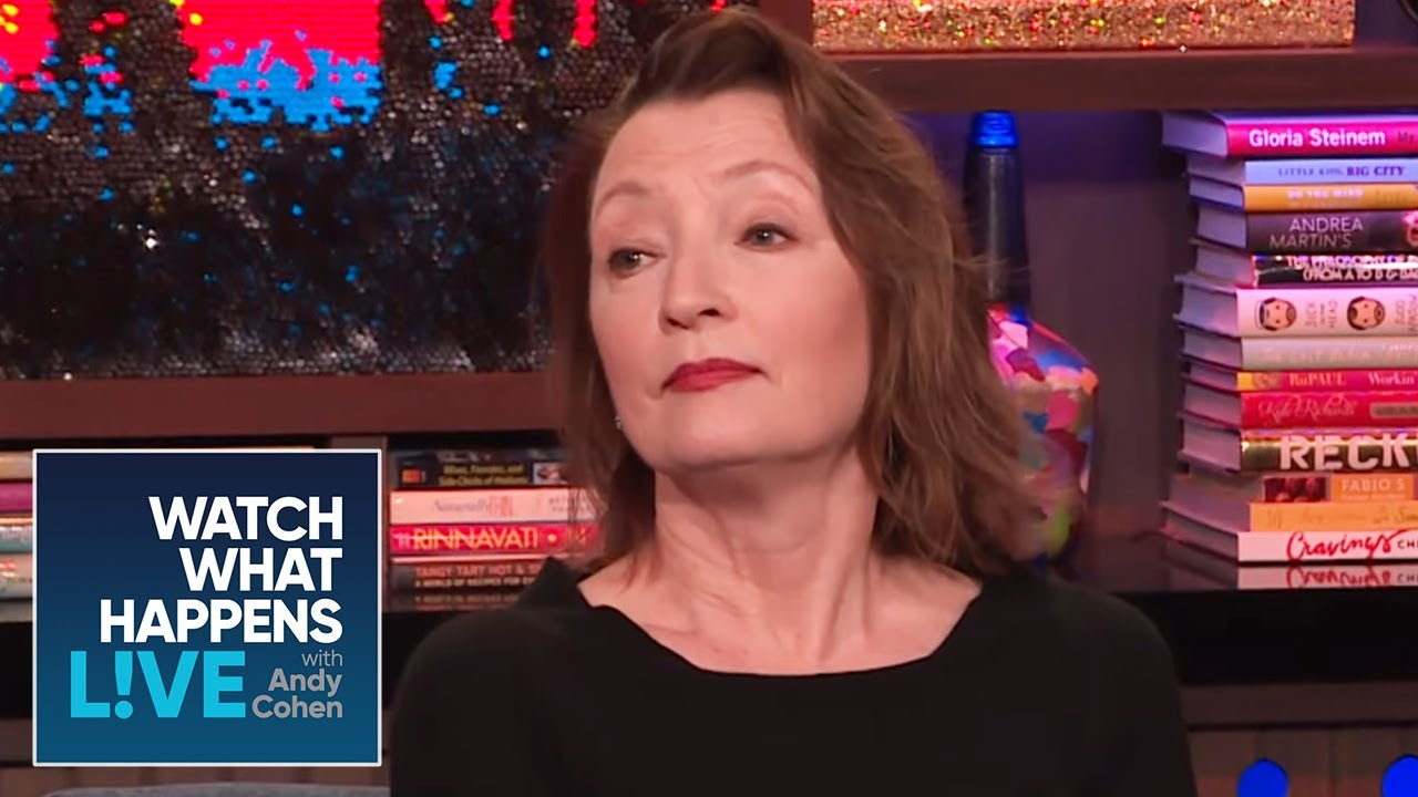 What American Fads Offend Lesley Manville? | WWHL