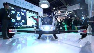 This autonomous drone can carry a human — CES 2016