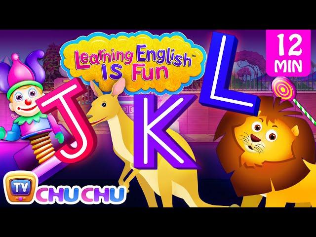 JKL Songs | ChuChu TV Learning English Is Fun™ | ABC Phonics & Words Learning For Preschool Children