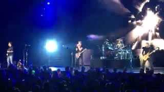 "Nickelback Open Their Grand Rapids Concert with ""Million Miles an Hour"" 2015"