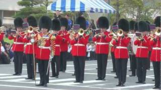 The Coldstream Guards in Hinode, Japan (1/2) 浦安復興祭