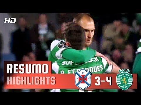 Resumo: Belenenses 3-4 Sporting (Liga 30ªJ)