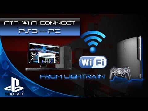 FTP соединение по Wi-Fi между PS3 и ПК