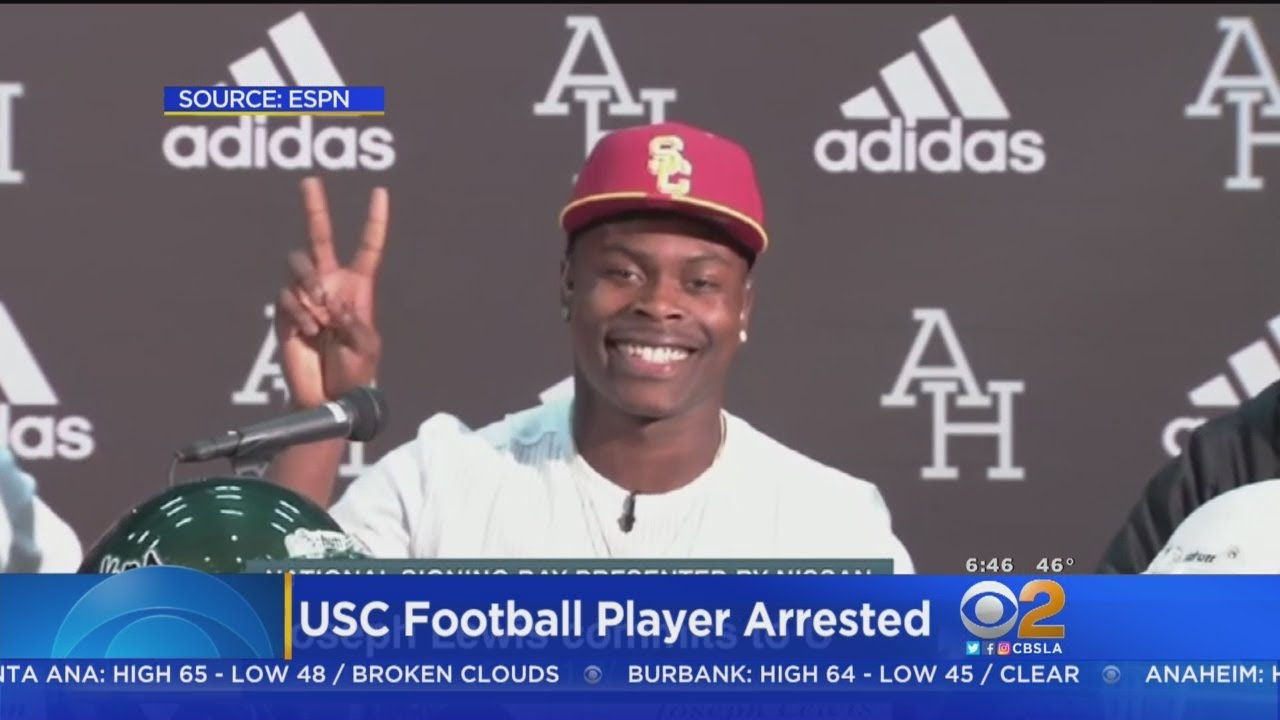 usc-football-player-arrested-for-domestic-violence