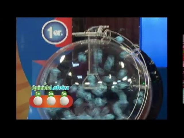Loteka Lotería Electrónica Sorteo 07:55 PM 14-10-2021