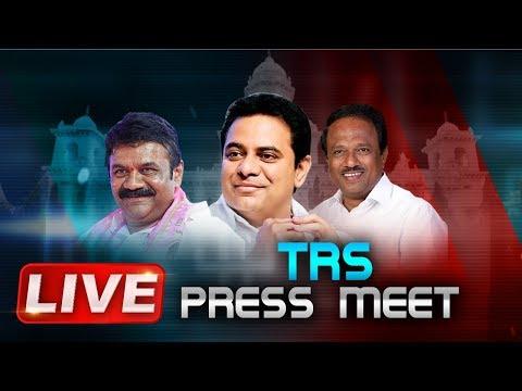 TRS Live | TRS Press Meet At Telangana Bhavan | ABN Telugu