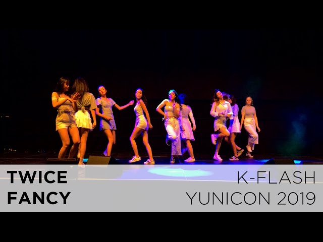 TWICE - FANCY | Dance Cover:  K-FLASH @ Yunicon 2019