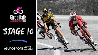 Giro d'Italia 2021 - Stage 10 Highlights | Cycling | Eurosport