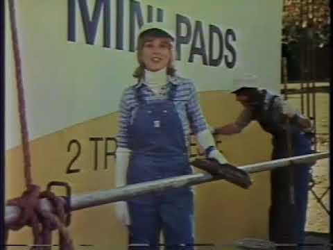 Angela Cartwright 1976 Kotex Mini Pads Commercial