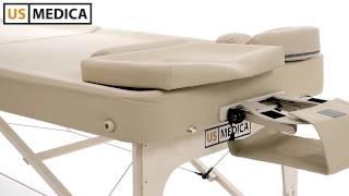 Массажный стол US MEDICA Bora Bora(, 2013-12-19T14:35:25.000Z)