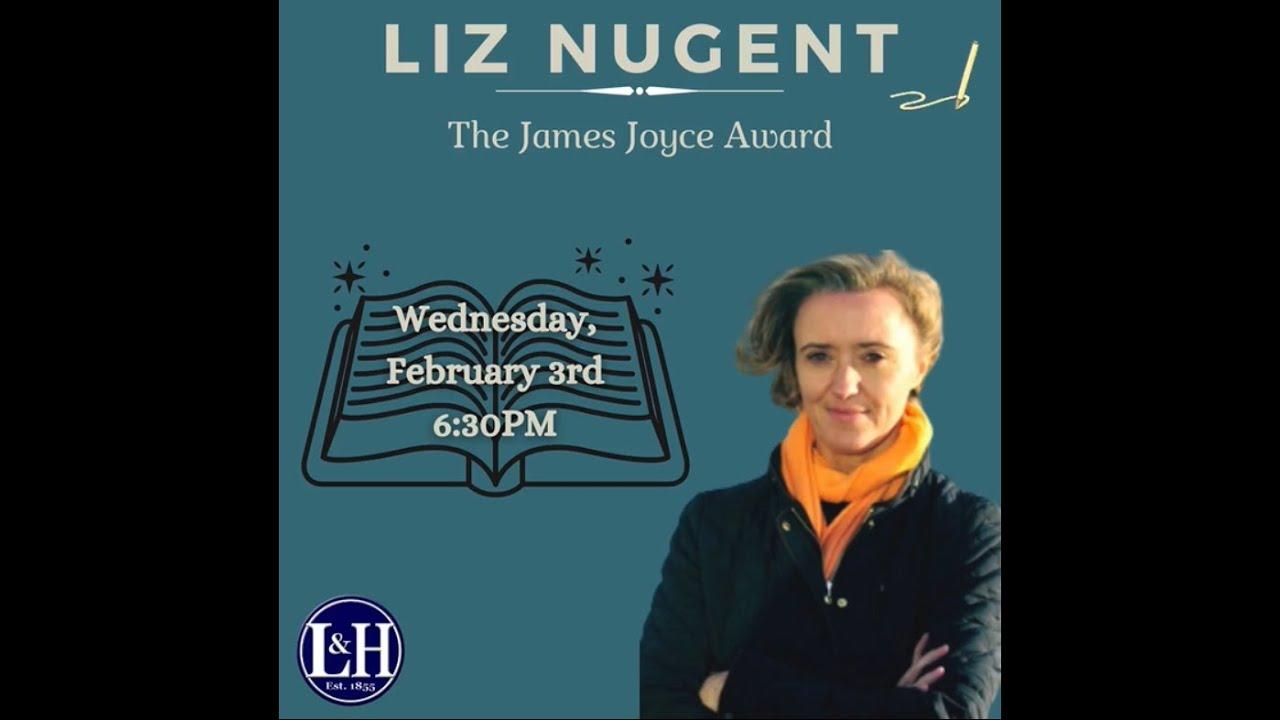 Liz Nugent Receives the James Joyce Award