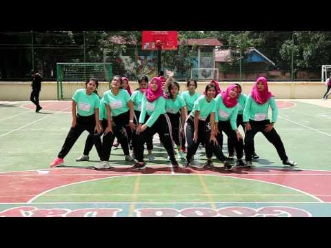 SMAN 5 Bandung Kelas XII-H, Ujian Praktek Aerobik 2017