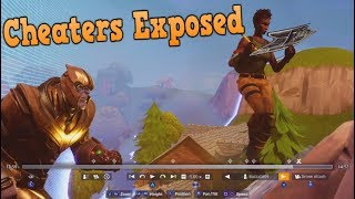 THANOS Player Caught CHEATING in Fortnite..