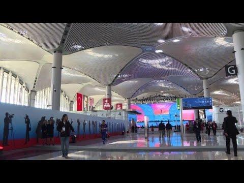 Turquie: ouverture d'un nouvel aéroport géant à Istanbul