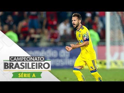 Melhores Momentos - Flamengo 2 x 1 Coritiba - Campeonato Brasileiro (22/07/2017)
