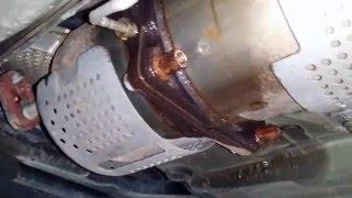Пежо 307СС. Демонтаж промывка и монтаж фильтра ФАП. Peugeot 307 CC FAP filter flushing.