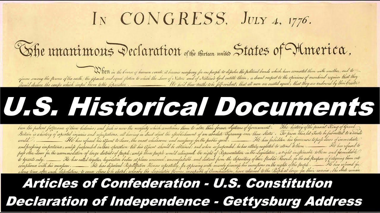 The Best United States Documents