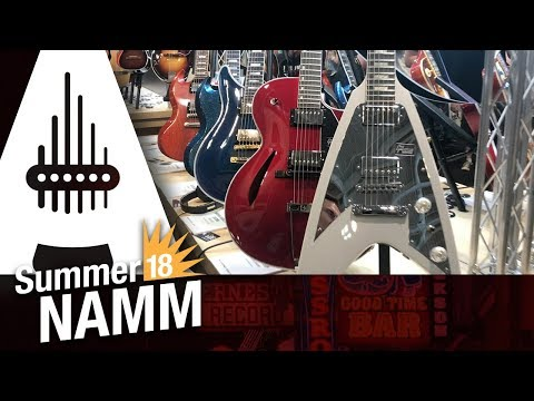 2018 Summer NAMM - The Gibson and Epiphone 2019 Ranges