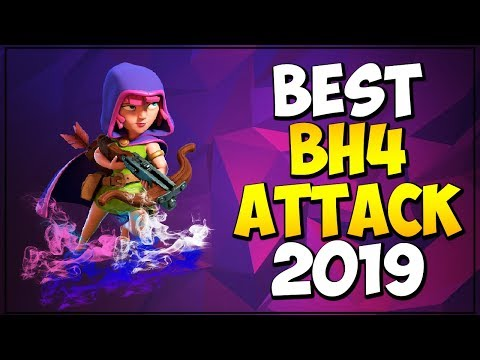BEST BH4 ATTACK STRATEGY 2019 | BUILDER HALL 4 ATTACK STRATEGY AGAINST BH5 - Clash Of Clans
