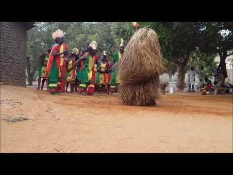 African Dancing in Dakar, Senegal