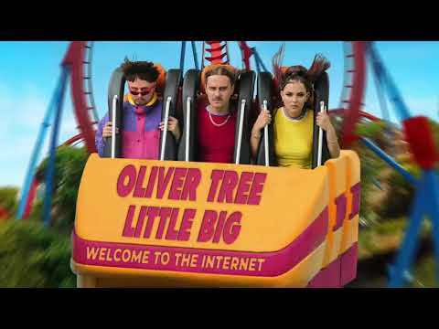 Oliver Tree & Little Big - The Internet (1 Hour)
