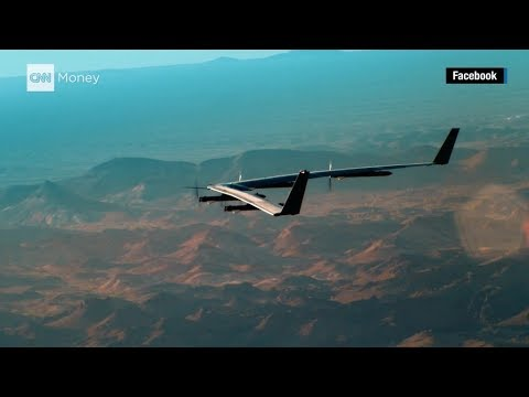 Facebook drone in successful 2nd test flight.