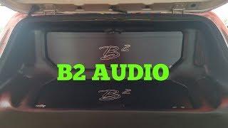 2 B2 Audio M15 Raven Amps on 4 B2 XMV3 15's