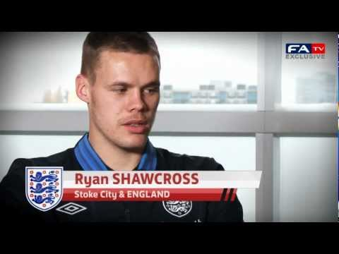 Exclusive: Ryan Shawcross on Playing for England - Sweden v England | FATV