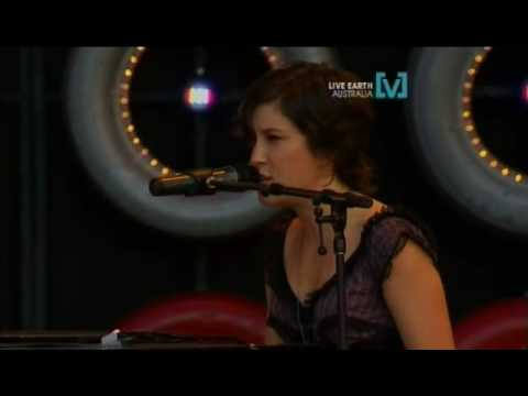 Missy HIggins - Where I Stood (Live Earth Australia)