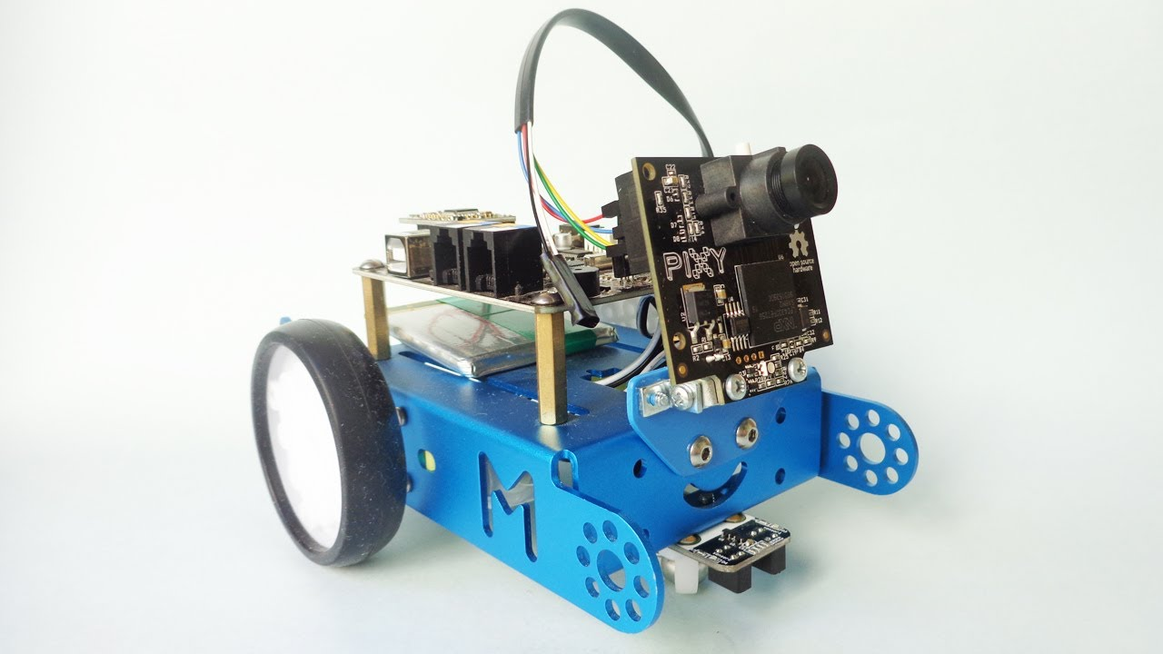 Object Follower Robot (with MBot + Pixy): 5 Steps (with