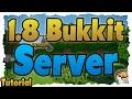 MINECRAFT 1.8 Bukkit-Server erstellen (Tutorial) Mit 1.8 Blöcken & Plugins