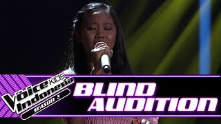 Grace - Titip Rindu Buat Ayah | Blind Auditions | The Voice Kids Indonesia Season 3 GTV 2018