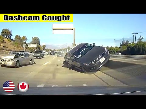 Ultimate North American Cars Driving Fails Compilation - 259 [Dash Cam Caught Video]