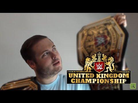 NEW WWE UK CHAMPIONSHIP TITLE BELT UNBOXING!! BIG ANNOUNCEMENT!