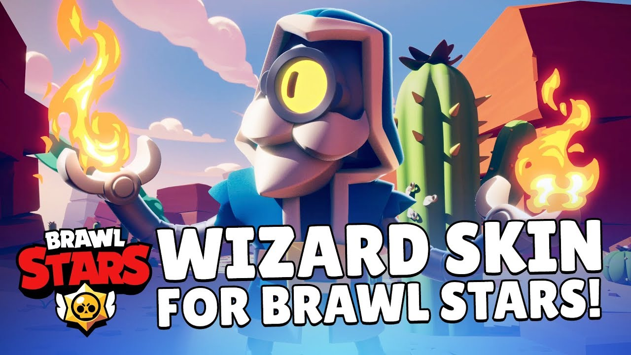 Clash Royale Get A Special Wizard Skin In Brawl Stars Youtube
