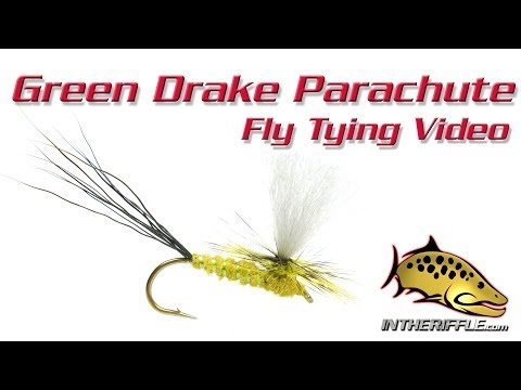 Green Drake Parachute Fly Tying Video Instructions