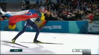 Anastasia Kuzminova  zlatá medaila na ZOH 2018