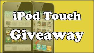 GIVEAWAY | iPod Touch 4th Gen 2011 [closed]