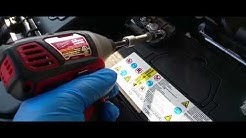 How to: Remove a Battery from a 2013 Kia Sportage
