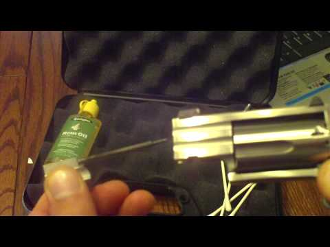 How To Lube A North American Arms  NAA .22Mag. PUG Mini-Revolver