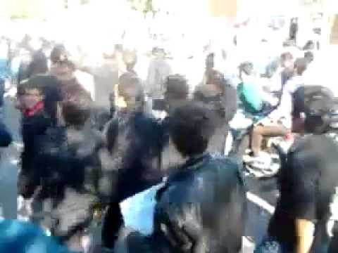 Iran: CLip of anti government demonstration in dezful 1