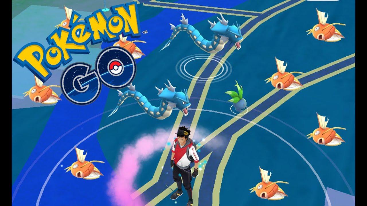how to catch a shiny magikarp in pokemon go